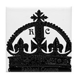 RC crown Tile Coaster