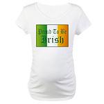 Proud To Be Irish Maternity Top