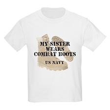 My Sister Wears Navy DCB T-Shirt