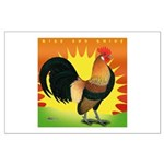 Rise and Shine Dutch Bantam Large Poster