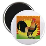 Rise and Shine Dutch Bantam Magnet