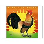 Rise and Shine Dutch Bantam Small Poster
