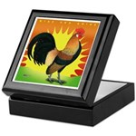 Rise and Shine Dutch Bantam Keepsake Box