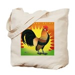 Rise and Shine Dutch Bantam Tote Bag