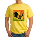 Rise and Shine Dutch Bantam Yellow T-Shirt