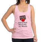 Assistant School Principal gift Racerback Tank Top