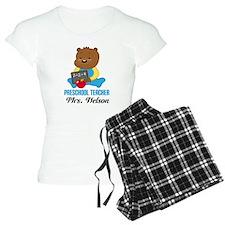 Preschool Teacher personalized Pajamas