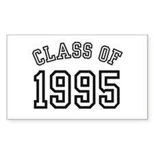 Class of 1995 Rectangle Decal