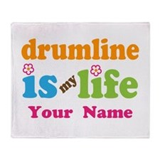 Drumline Music Is My Life Throw Blanket