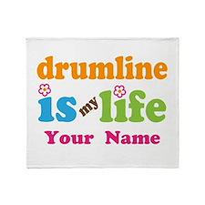 Drumline Music Is My Life Throw Blanket
