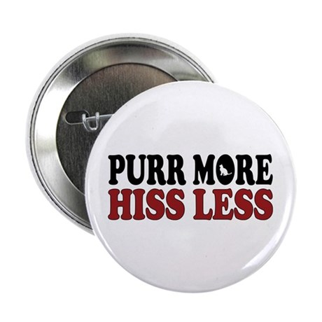"Cat Purr 2.25"" Button (10 pack)"