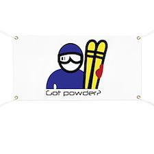 Got Powder Banner