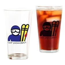 Got Powder Drinking Glass
