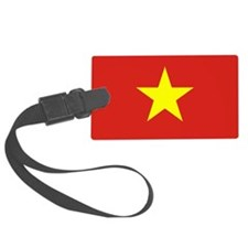 Vietnam Flag Luggage Tag