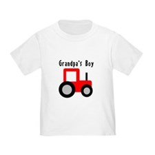 Red Tractor - Grandpa's Boy T