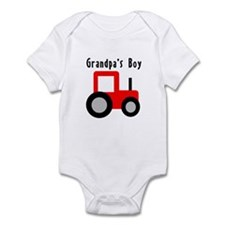 Red Tractor - Grandpa's Boy Infant Bodysuit