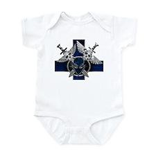 Swords w/Alien Crest Blue Infant Bodysuit