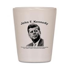 JFK Revolution Shot Glass