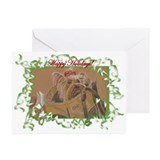 Yorkie Christmas Cards (Pk of 10)