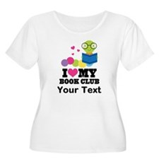I Love My Book Club Plus Size T-Shirt