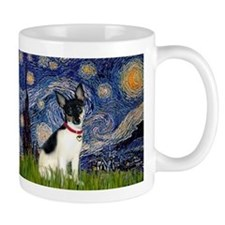 Starry Night & Rat Terrier Mug