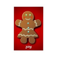 Cute Personalized christmas decorations Rectangle Magnet