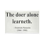 Nietzsche 14 Rectangle Magnet (100 pack)