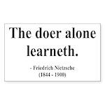 Nietzsche 14 Rectangle Sticker