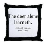 Nietzsche 14 Throw Pillow