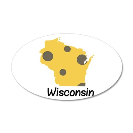 State Wisconsin Wall Decal