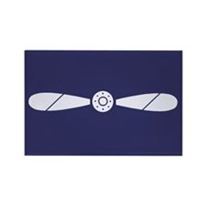 RAF Leading Aircraftman<BR> Rectangle Magnet