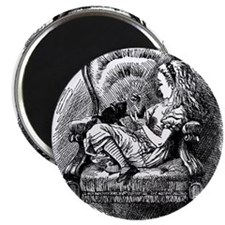"Alice and Kitten 2.25"" Magnet (10 pack)"
