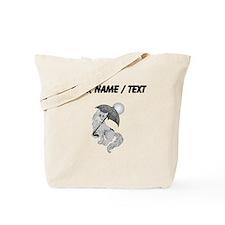 Dog On The Beach (Custom) Tote Bag