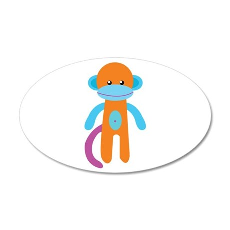 Monkey Toy Wall Decal
