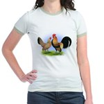 LT Brown Dutch Pair Jr. Ringer T-Shirt