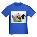 LT Brown Dutch Pair Kids Dark T-Shirt