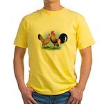 LT Brown Dutch Pair Yellow T-Shirt