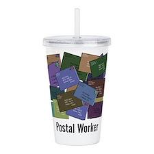 Postal Worker Acrylic Double-wall Tumbler