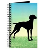 Grassy Field Vizsla Dog Journal