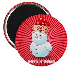 Cute Snowman Magnets