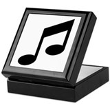 Musical Images Keepsake Box