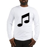 Musical Images Long Sleeve T-Shirt
