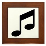 Musical Images Framed Tile