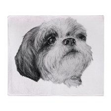 Shih Tzu Throw Blanket