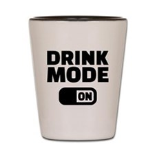 Drink mode on Shot Glass