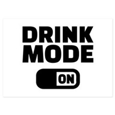 Drink mode on 5x7 Flat Cards