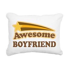 Awesome Boyfriend Rectangular Canvas Pillow