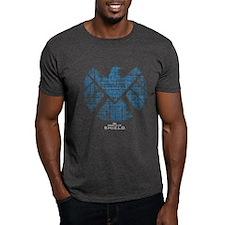 SHIELD Logo Alien Writing T-Shirt