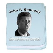 JFK Power baby blanket
