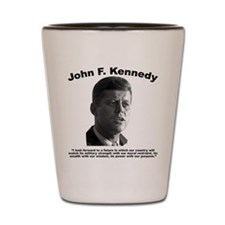 JFK Power Shot Glass